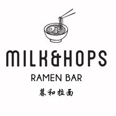 Milk & Hops Ramen Bar logo