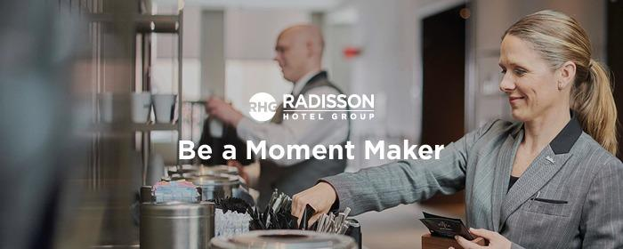 Radisson Hotel Group - Area Office, Paris - Sales Brand Cover