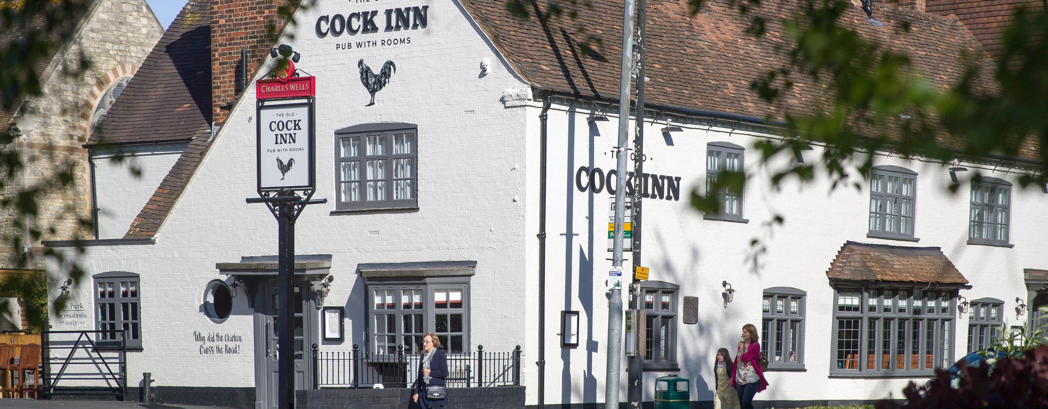 The Old Cock Inn Brand Cover