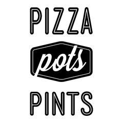Pizza, Pots and Pints - Management logo