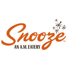 Snooze The Strand on Huebner logo