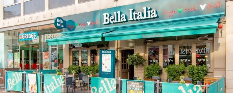 Bella Italia Leeds Briggate Brand Cover