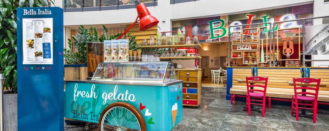 Bella Italia Manchester Arndale Brand Cover