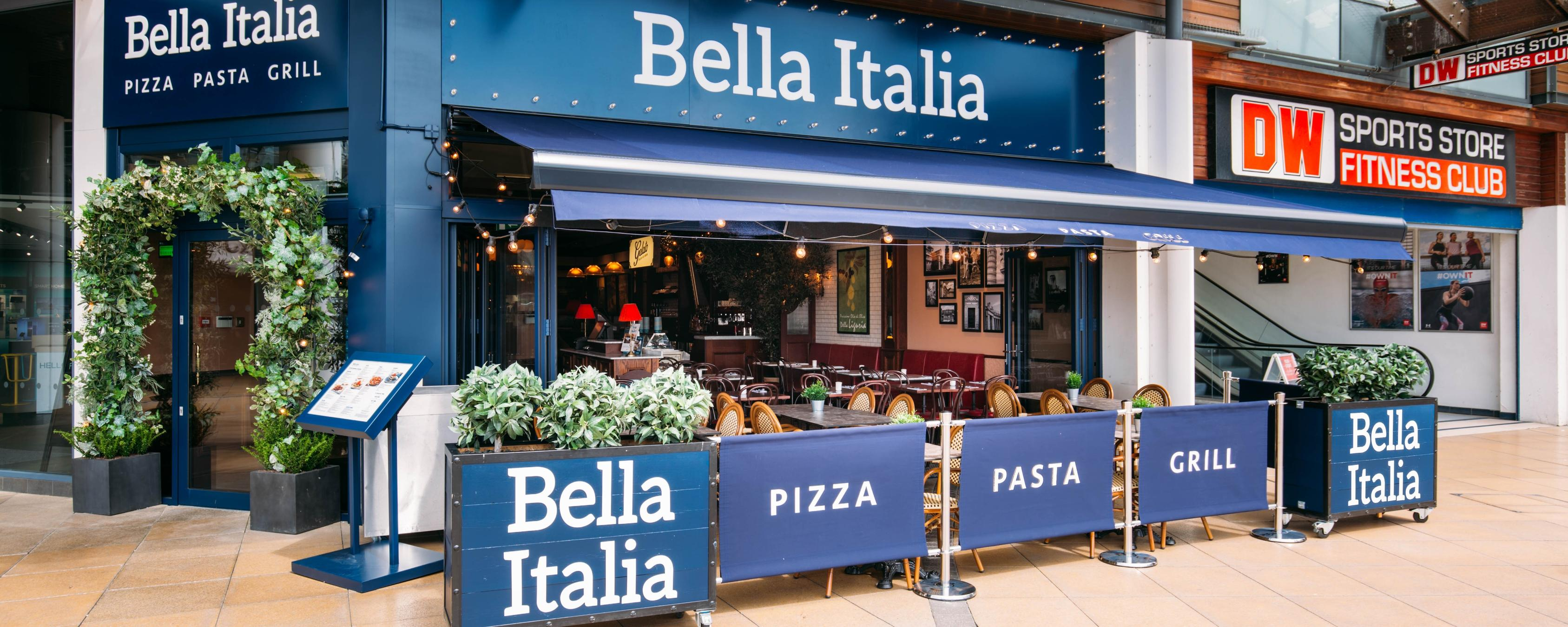 Bella Italia Broadstairs Brand Cover