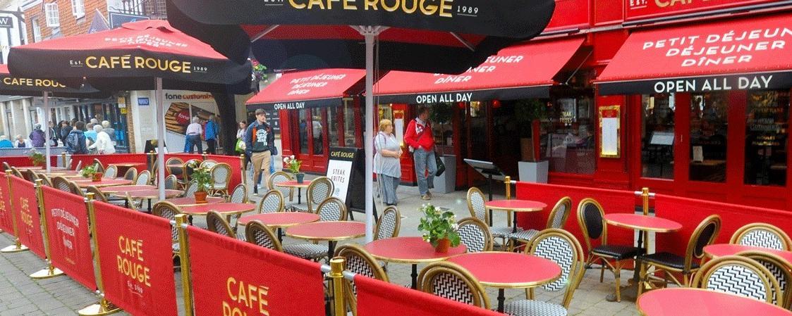 Café Rouge Salisbury Brand Cover