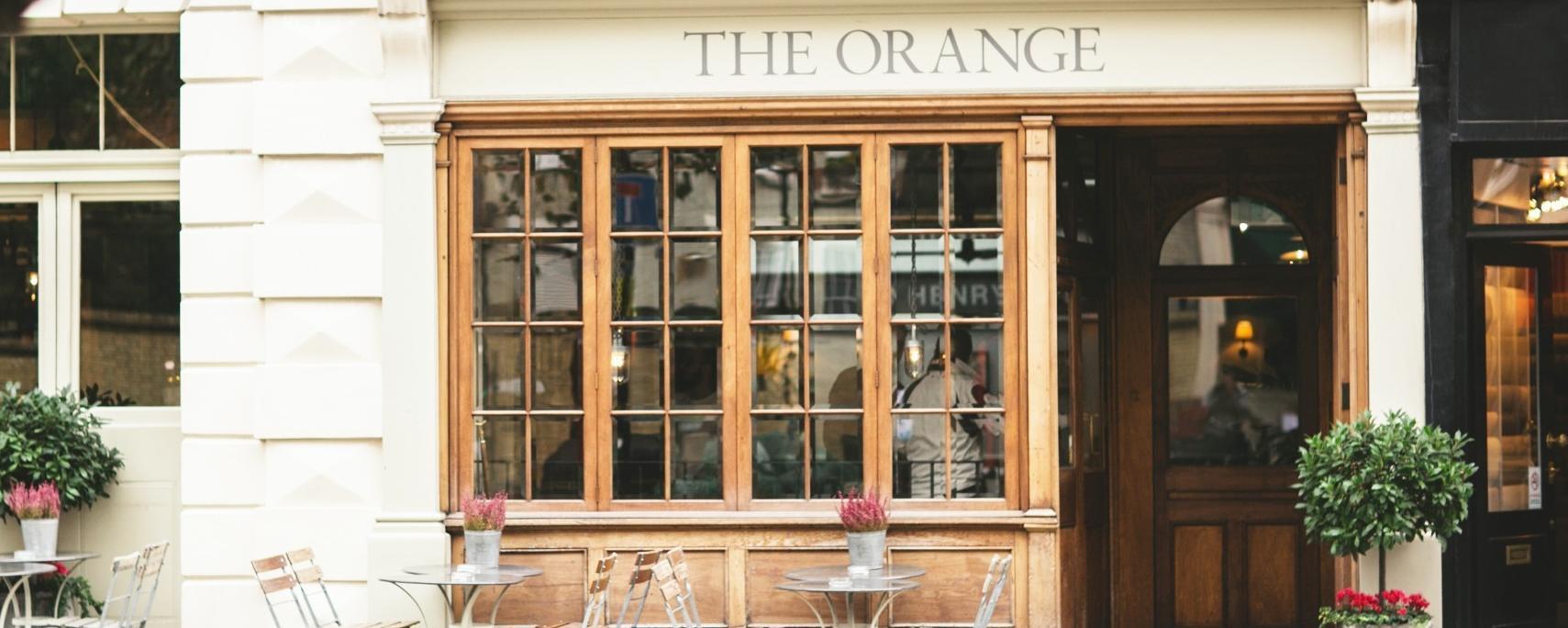 The Orange Brand Cover