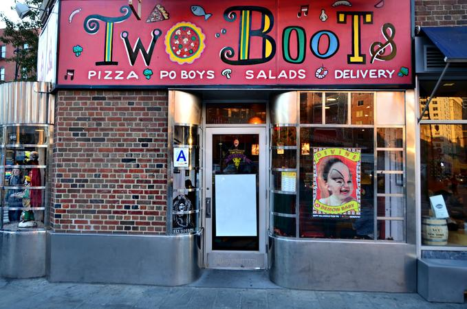 TWO BOOTS