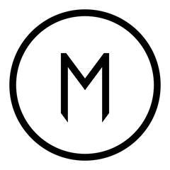 M Bank logo