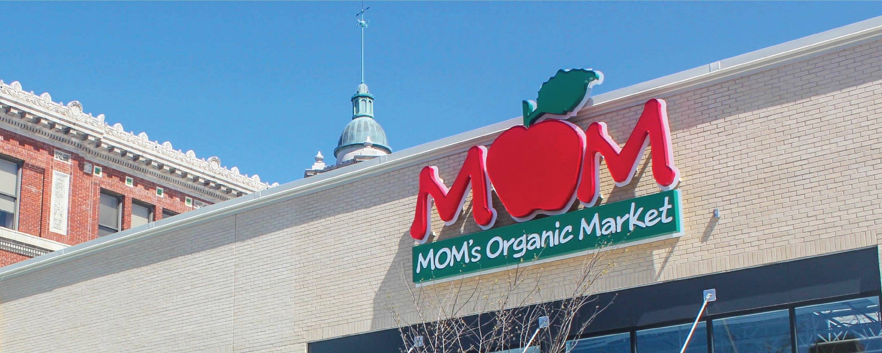 MOM's Organic Market GAITHERSBURG Brand Cover