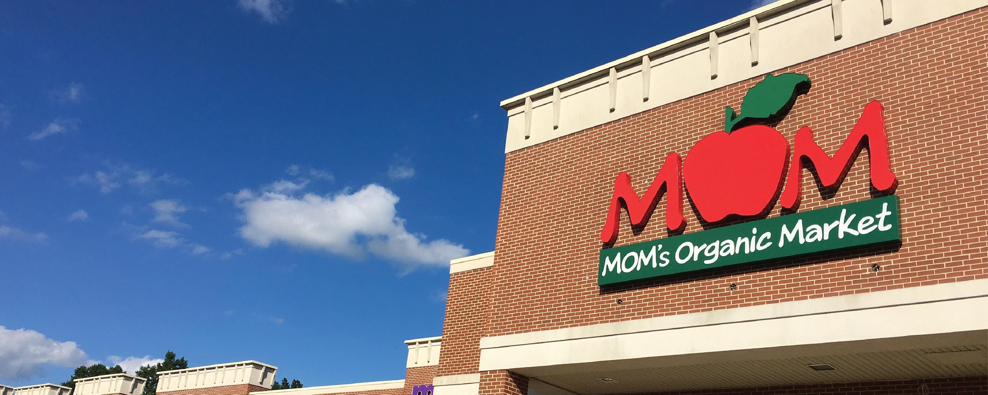 MOM's Organic Market Paramus Brand Cover
