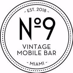 No 9 Vintage Mobile Bar