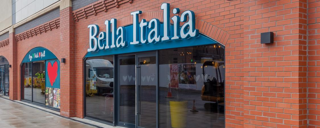 Bella Italia Darlington Brand Cover