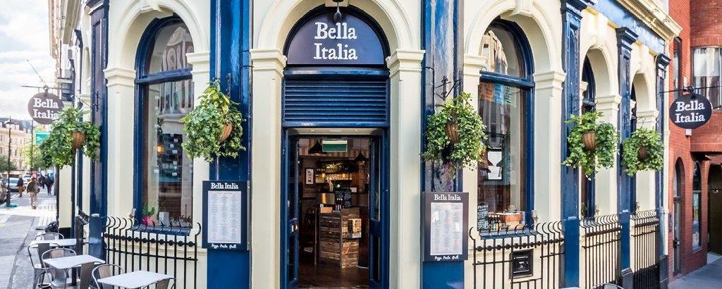 Bella Italia Southampton Above Bar