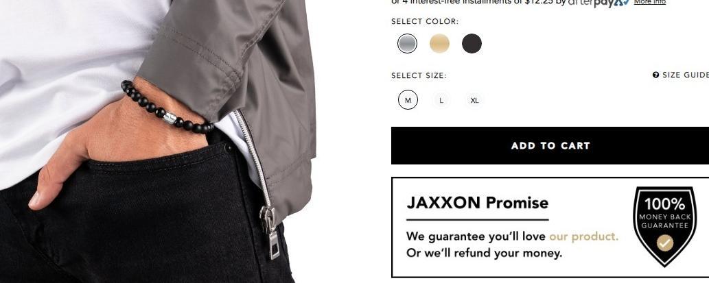 Jaxxon Mens Jewelry Store