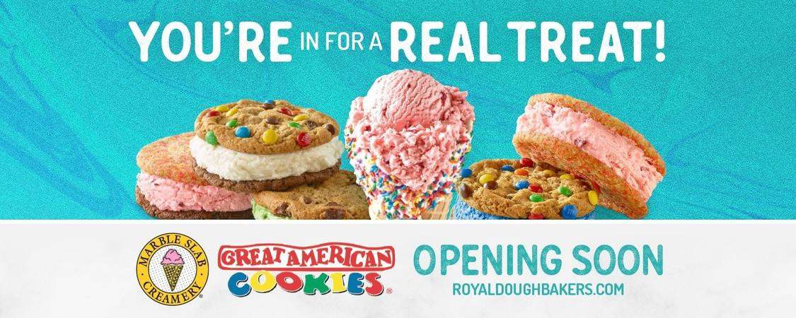 Great American Cookies & Marble Slab Creamery - Alexandria
