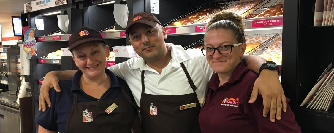 Cafua Management Company – a Dunkin' franchise Brand Cover