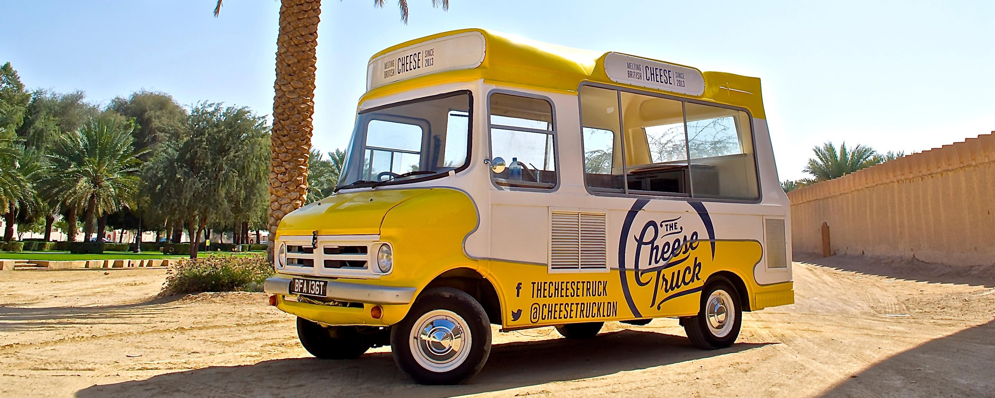 The Cheese Truck Brand Cover
