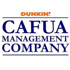 Cafua Management Company – a Dunkin' franchise logo