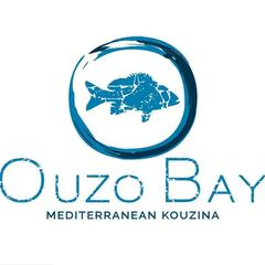 Ouzo Bay/Beach logo