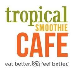 Tropical Smoothie Cafe - AR-031 (Rebsamen Park cafe) logo