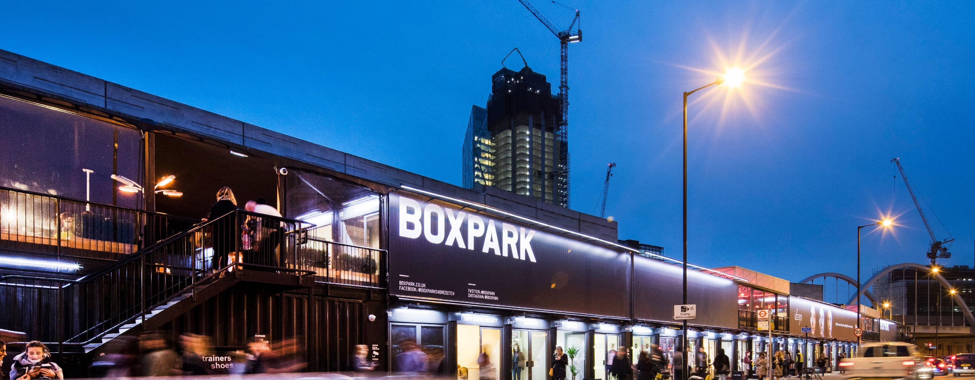 BOXPARK - Shoreditch Brand Cover
