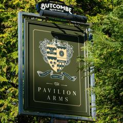 The Pavilion Arms logo