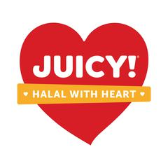 Juicy! Halal With Heart – New Jersey  logo