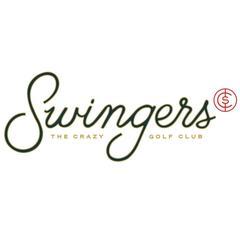 Swingers - the crazy golf club logo