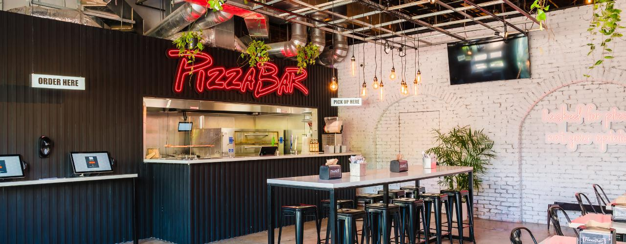 Pizza Bar Collins Ave Brand Cover