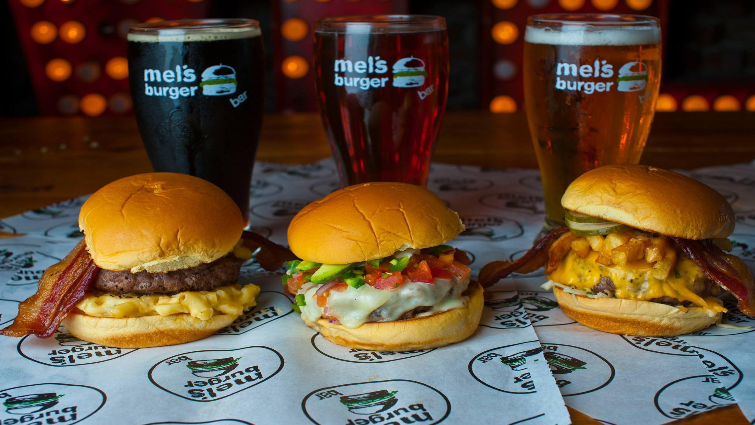 Mel's Burger Bar Brand Cover