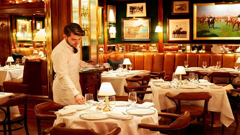 Server Waiter Waitress at The Polo Bar  f7dac90b3f4