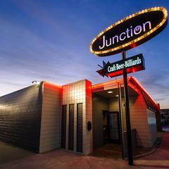 The Junction Bar - Billiards logo